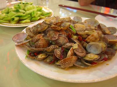 Spicy Qingdao Clams - Qingdao, China