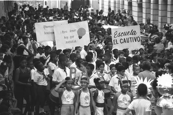 Kids Street Parade - Santiago, Cuba