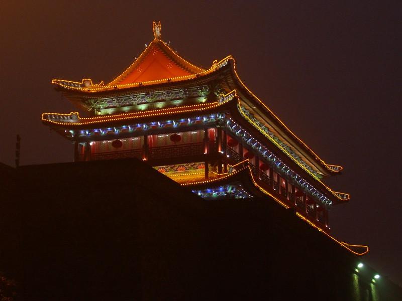 Xi'an's Southern Gate - Xi'an, China
