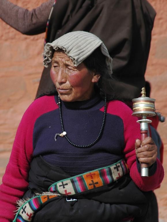 Devout Pilgrim - Xiahe, China