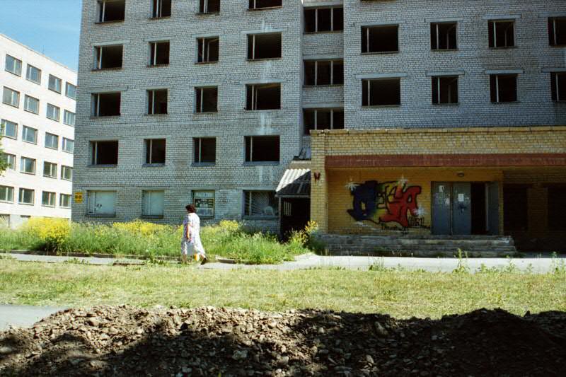 Empty Block Building - Paldiski, Estonia