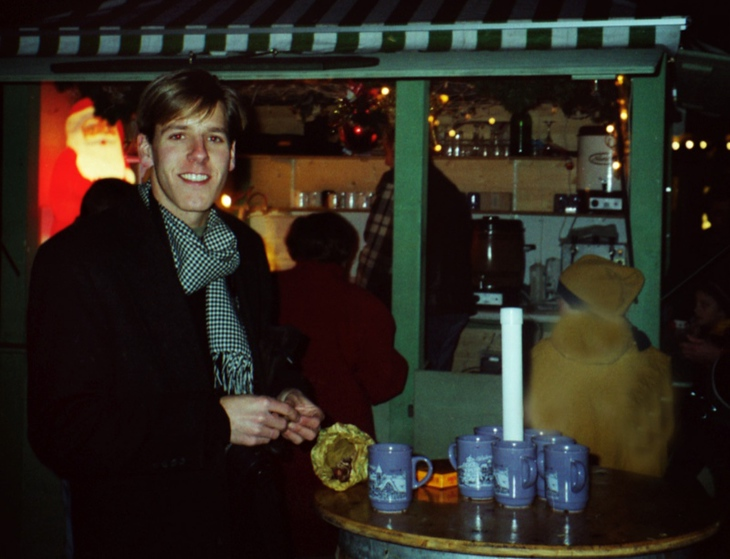 Gluhwein and Roasted Chestnuts - Hall, Austria
