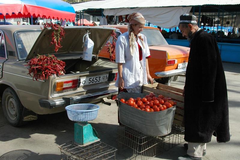 Varzob Bazaar (Market) - Dushanbe, Tajikistan