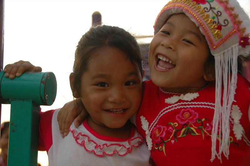 Young Hani Friends - Yunnan, China