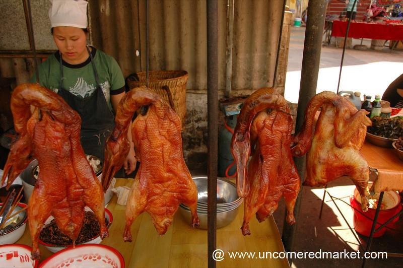 Smoked Ducks - Yuanyang, China