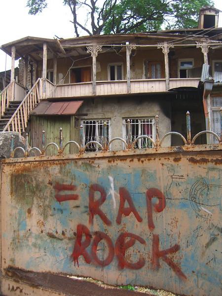 Music-related Graffiti - Tbilisi, Georgia