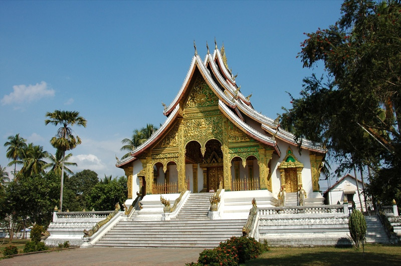 Temple at the Royal Palace Museum - Luang Prabang, Laos