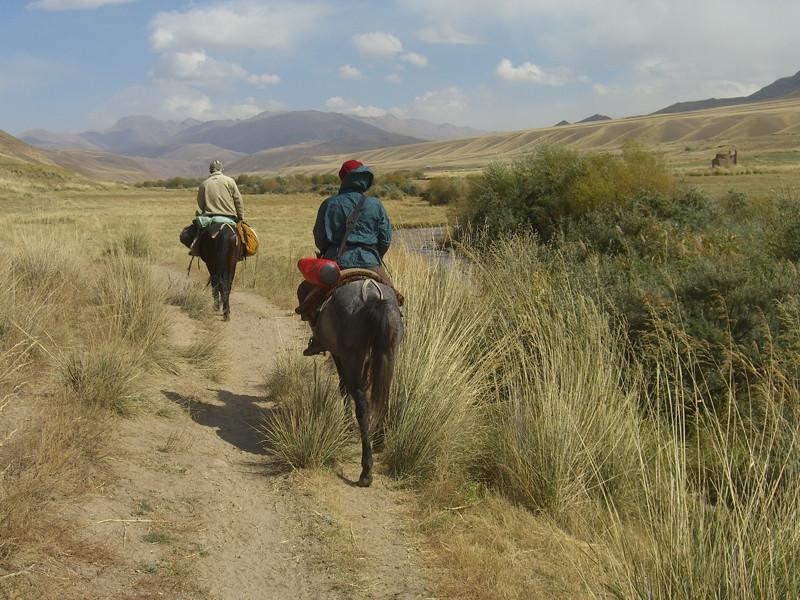 Horseback Ride to Song Kul Lake - Kyrgyzstan