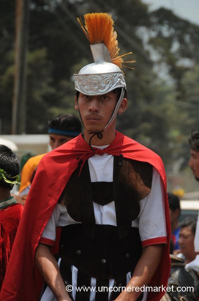 Roman Soldier - Semana Santa, Antigua