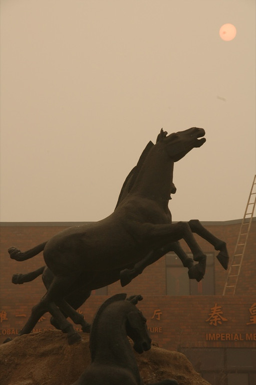 Horses and the Sun - Xi'an, China