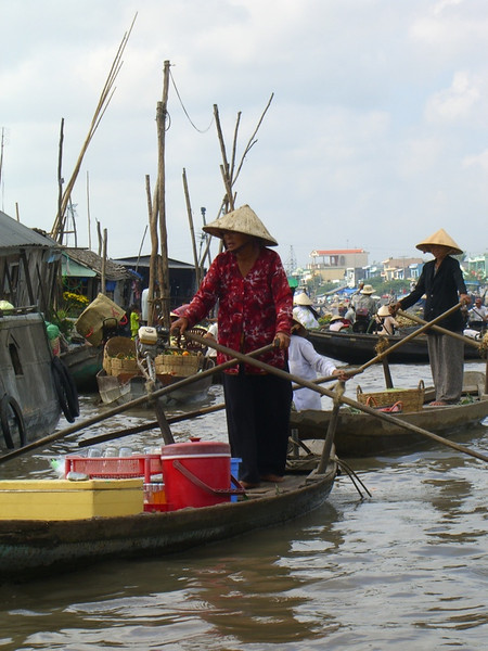 Floating Drink Stand - Mekong Delta, Vietnam