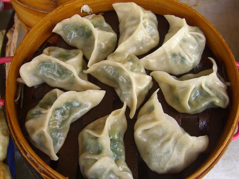 Steamed Chinese Dumplings - Kunming, China
