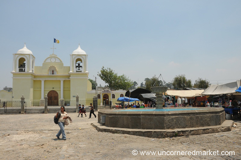 Main Square of San Martin Jilotepeque, Guatemala