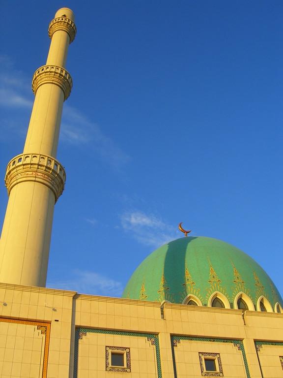 Sparmyrat Hajii Mosque - Geok-Depe, Turkmenistan