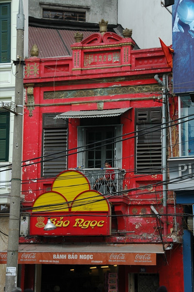 Red Building - Hanoi, Vietnam