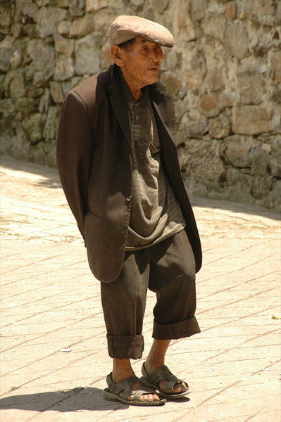 Old Chinese Man - Yuanyang, China
