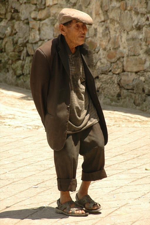 Old Chinese Man - Yuanyang, China