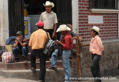 Men's Gathering Spot - Copan Ruinas, Honduras