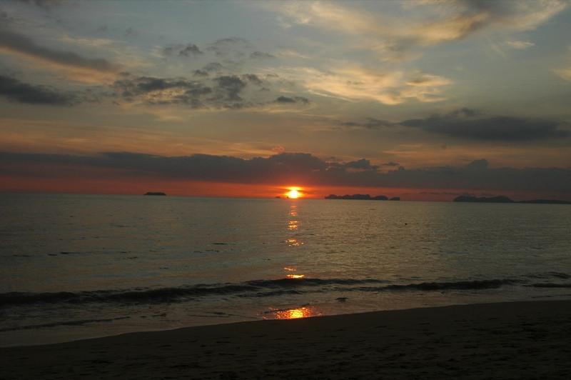 Sunset at the Beach - Ko Lanta, Thailand