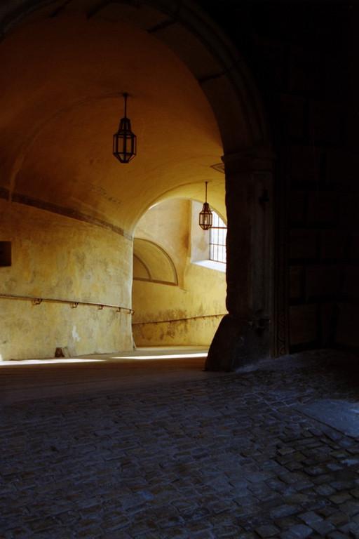 Walkway - Cesky Krumlov, Czech Republic