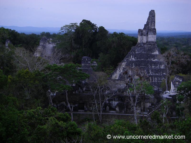 Dusk at Tikal, Mayan Ruins - Peten, Guatemala