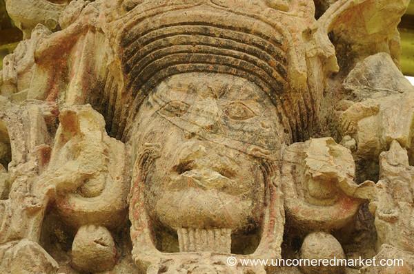 Mayan Ruins, Great Plaza - Copan Ruinas, Honduras