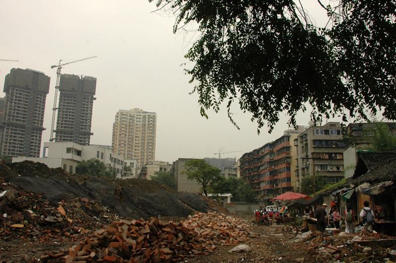 Demolition in Progress - Chengdu, China