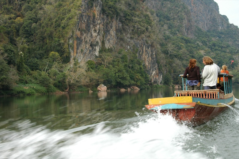 Fast Boat - Nong Khiaw, Laos