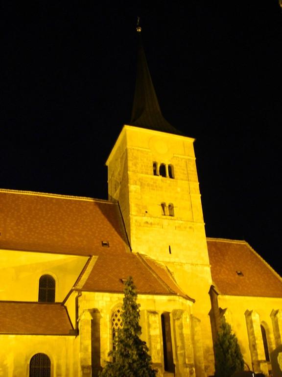 St. Michael's Church At Night - Pulkau, Austria