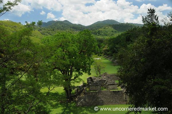Mayan Ruins, Grand Plaza - Copan Ruinas, Honduras