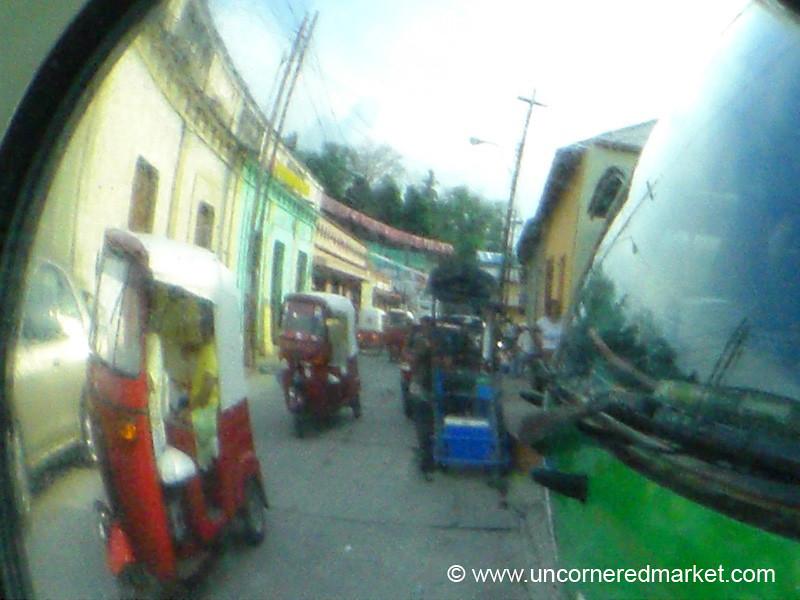 Guatemalan Tuktuks - Honduras Border