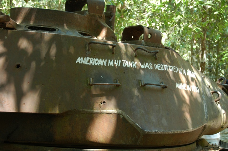 American Tank - Ho Chi Minh City, Vietnam
