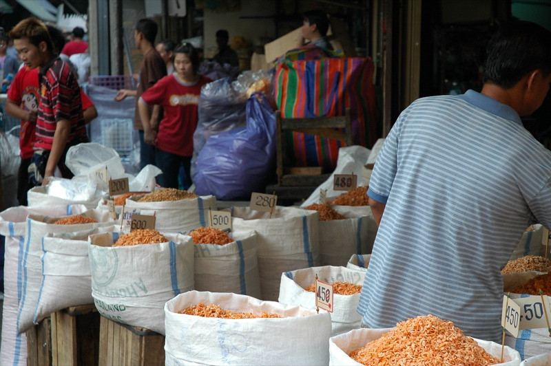 Dried Shrimp Stand - Bangkok, Thailand