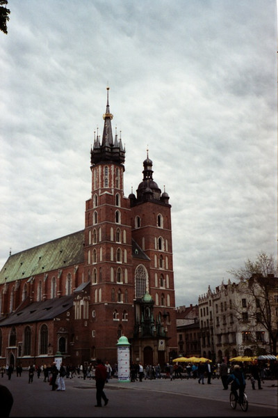 Cathedral on the Main Square - Krakow, Poland