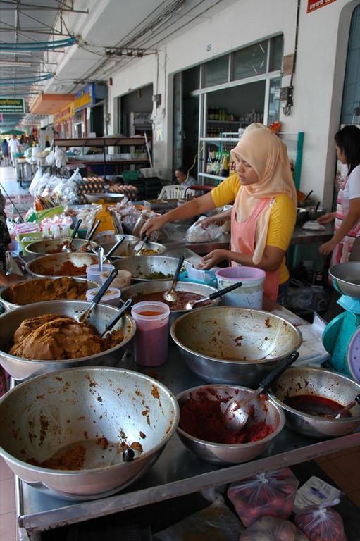 Curry Paste Vendor - Krabi, Thailand