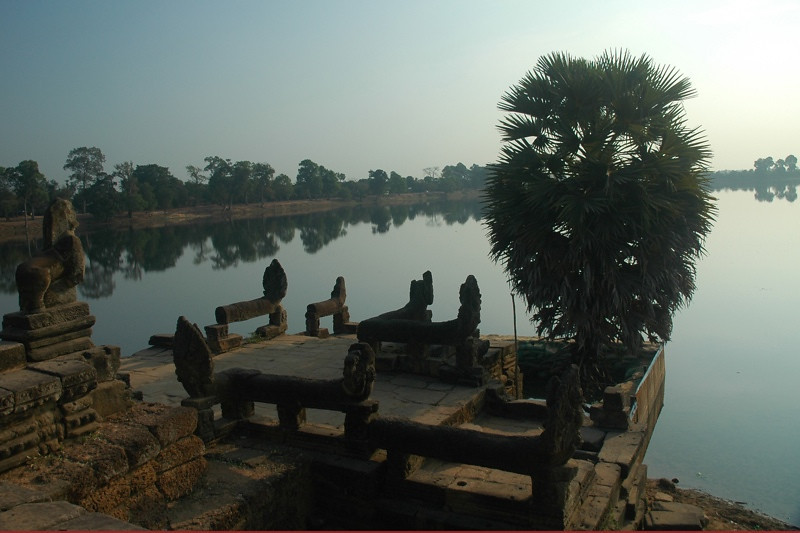 Banteay Kdei in the Early Morning Light - Angkor, Cambodia