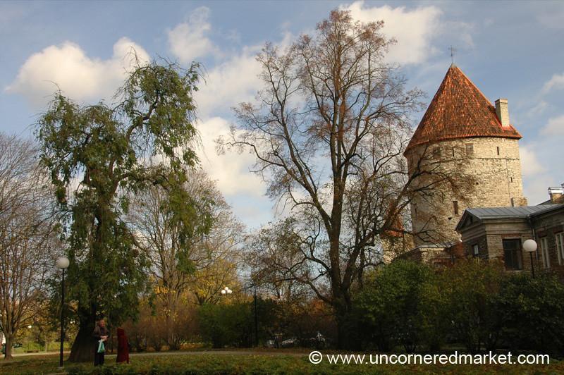 Tallinn's Medieval City Walls - Estonia