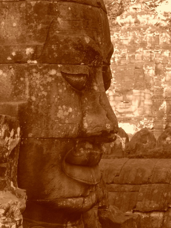 The Bayon Smile - Angkor, Cambodia