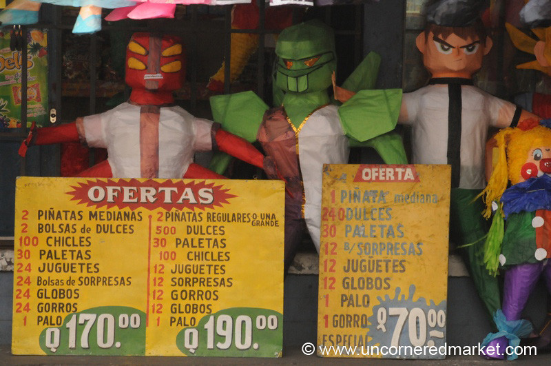 Pinata Prices - Guatemala City, Guatemala