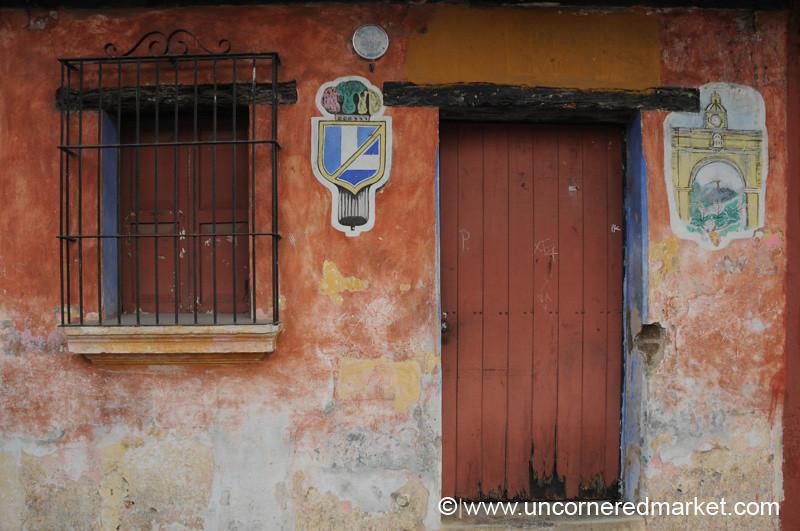 Street Art - Antigua, Guatemala