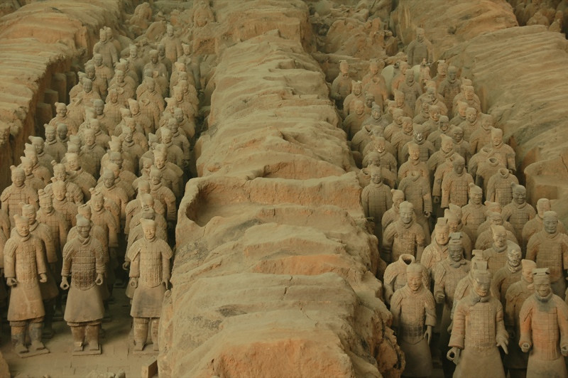 Terra Cotta Warriors - Xi'an, China