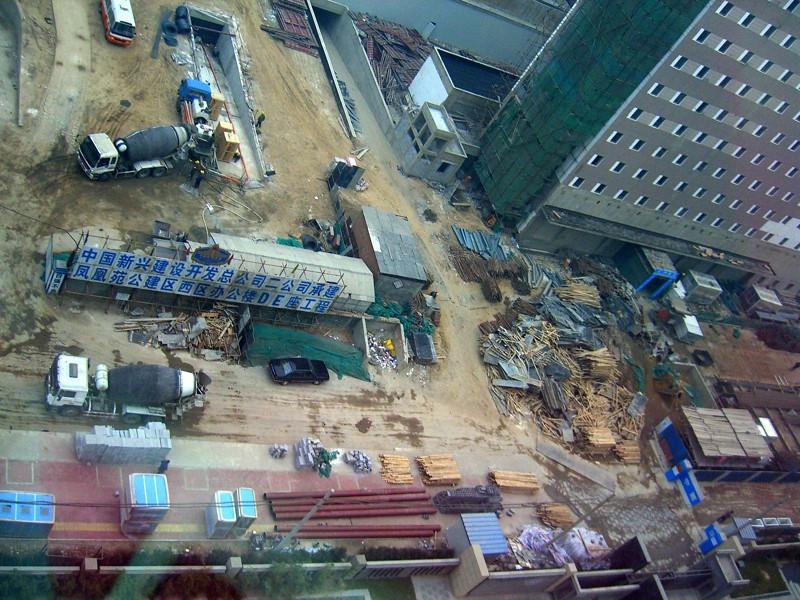 Beijing Construction Site - Beijing, China