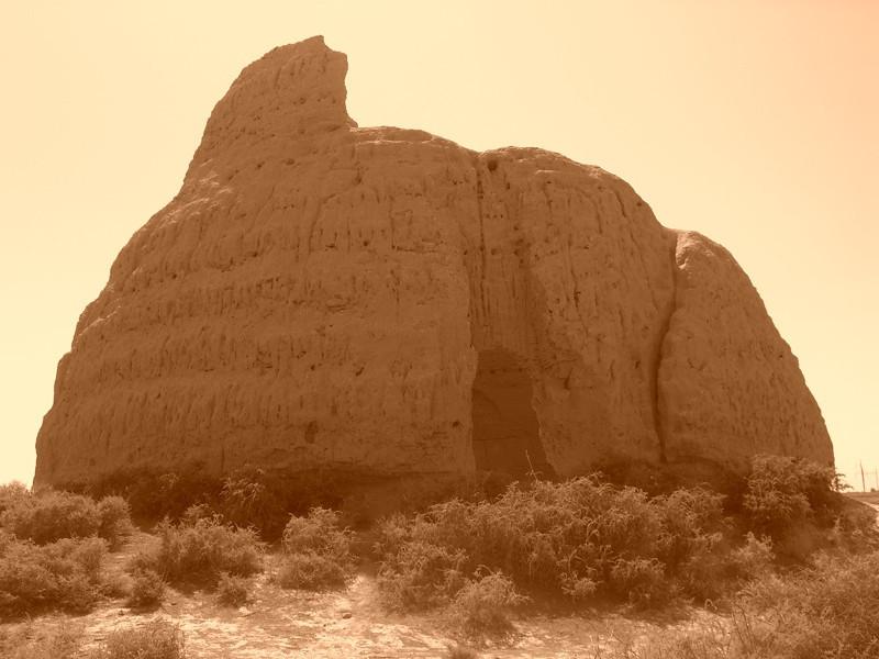 Ancient Icehouse in the Desert - Merv, Turkmenistan