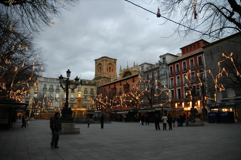 Christmas Lights - Granada, Spain