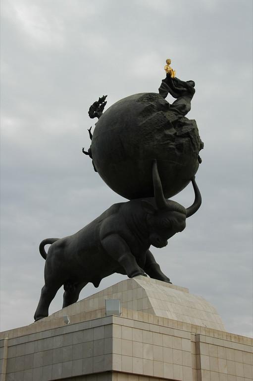 Earthquake Memorial - Ashgabat, Turkmenistan