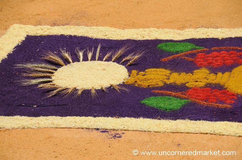 Holy Week Alfombra Designs, Semana Santa - Antigua, Guatemala