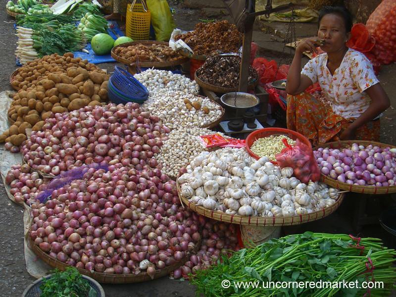 Onion and Garlic - Rangoon, Burma (Yangon, Myanmar)