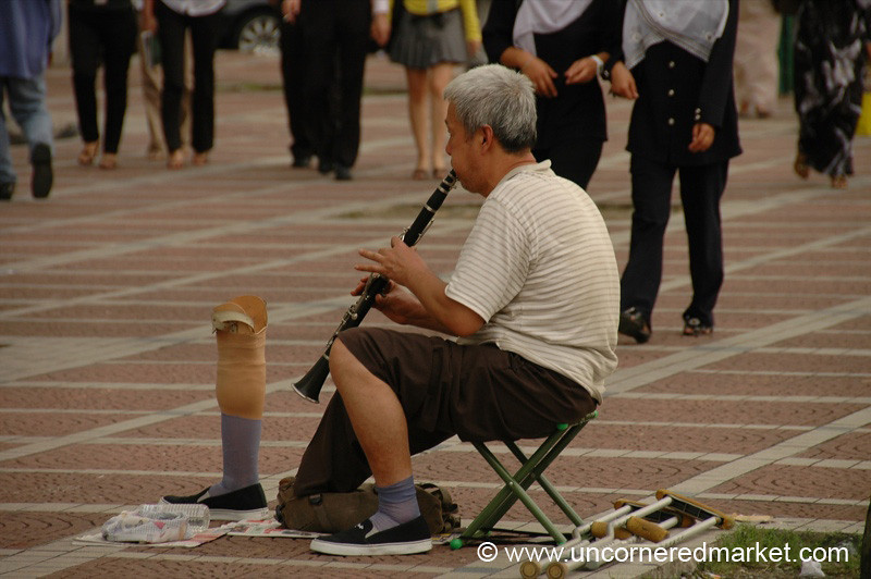 Street Musician - Kuala Lumpur, Malaysia