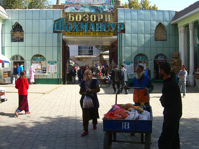 Shah Mansur Bazaar (Green Market) - Dushanbe, Tajikistan