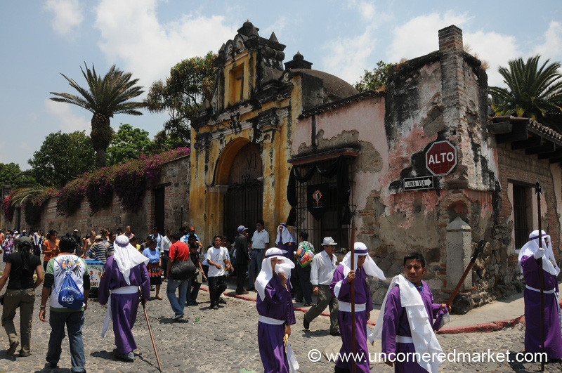 Good Friday Street Scene, Semana Santa - Antigua, Guatemala